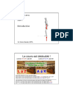 Structures I - Cours