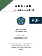 Makalah AIK - Sejarah Muhammadiyah