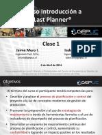 Gepuc - Curso Last Planner v2 2 Clase 1 Santiago 2013-04-04 v1 (2)