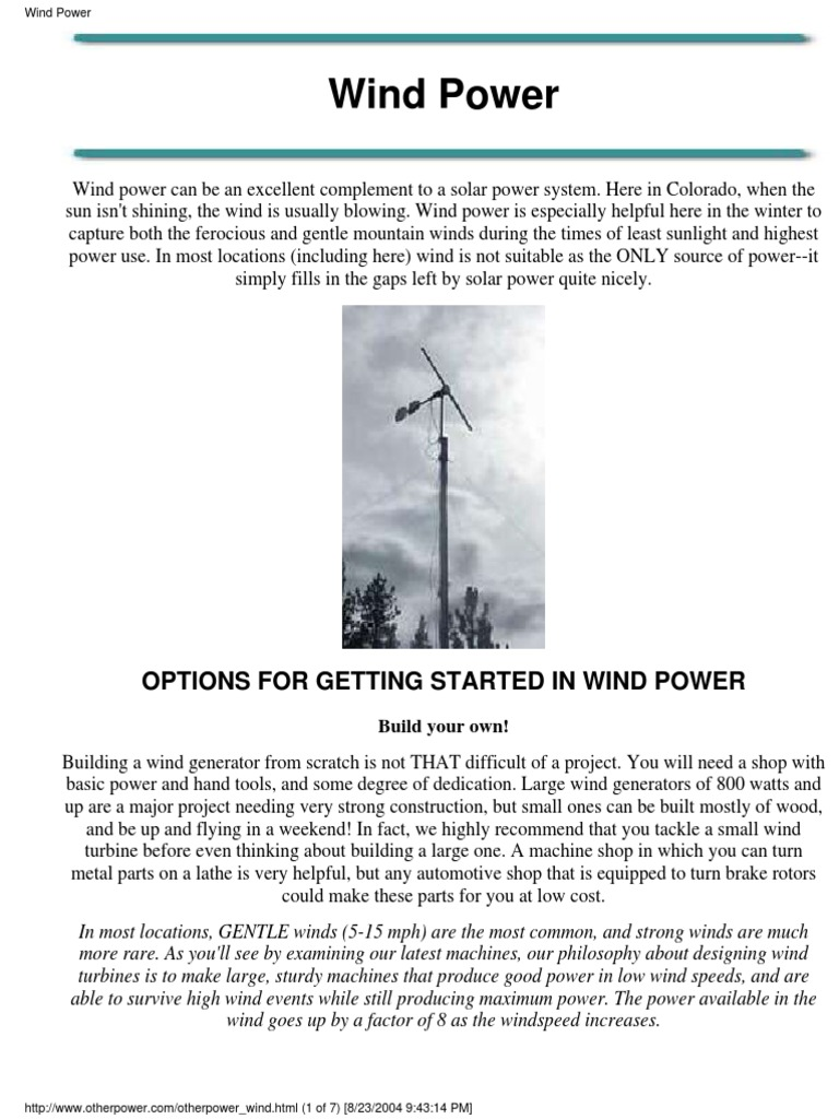 Otherpower Diy Wind Generators 2004 Power Turbine Voltages Of The Circuit Http Www Powerguru Org Driver Circuits