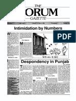 The Forum Gazette Vol. 3 No. 5 March 5-19, 1988