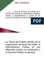 Clase IntroductoriaLA TEORÍA DEL ESTADO