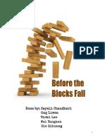 Before the Blocks Fall
