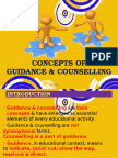 CONCEPTS OF G &C