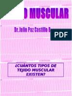 Tejido Muscular - Dr.Julio Paz Castillo