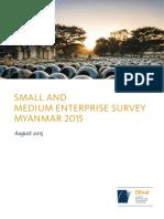 2015 DEval SME Report