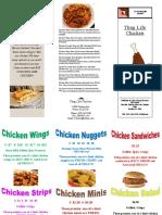 chicken wing publication