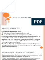 Ch8. Financial Mgmt
