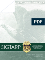 SIG-TARP October 26 2016 Report to Congress