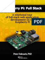 2948797bdb3a Raspberry Pi Full Stack a Whirlwind Tour of Full-stack Web Application  Development on the