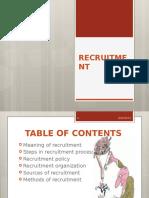 Chapter 3 - Recruitment