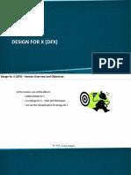 Module IX. DFSS - Part II - B. Design for X (DFX).pdf
