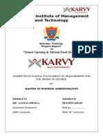 Demat Opening & Mutual Fund (Karvy) Praveen Singh
