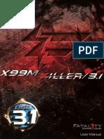Fatal1ty X99M Killer3.1