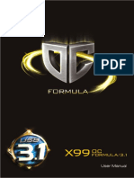 X99 OC Formula3.1