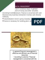 Financial Management basic