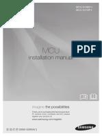 MCU-X NEF1 VEF1 Installation Manual_10 2012_English