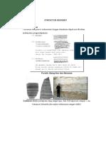 Gambar Struktur Batuan Sedimen