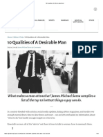 10 Qualities of a Desirable Man