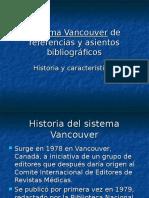 Sistema Vancouver en Referencias Bibliograficas!