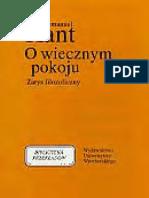 Immanuel Kant - O wiecznym pokoju.pdf