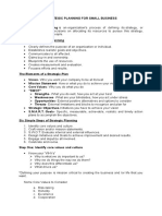 Strategic Planning for Small Business.docx