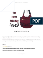 Sewing Tutorial the Raven Hobo Bag by Shoriameshiko-d6m49j7
