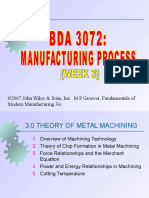 Slide Manufacturing Process Week 3