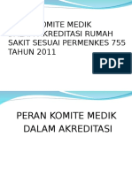1. Peran Komite Medik Pada Akreditasi