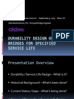 Bridge Design for Durability