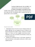3 Functions of SEBI
