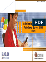 02 Administering Microsoft Windows Server 2003