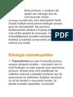 Stomatopatii