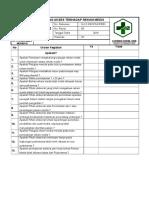 Daftar Tilik (Cek List) Tentang Akses Terhadap Rekam Medis
