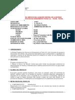 Datos Generales de La Obra Almacen Central