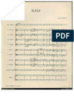 Kelly Serenade for Strings Score