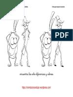 Encuentra Las Diferencias en Dibujos