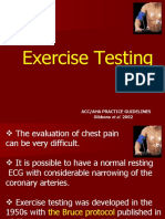 Exercise Testing
