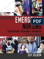 Emergency Nursing the Profession the Pathway the Practice