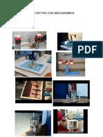 Hoja de operac N° 2  Proyectos con máquins simples y mecanismos- primaria