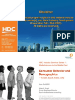 Consumer Behavior and Demographics