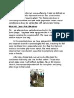 Report Agri 2016
