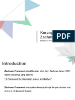 Chapter 2 - Zachman Framework