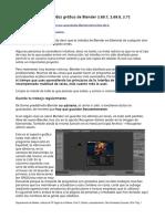 Manual Tutorial Blender Interfaz