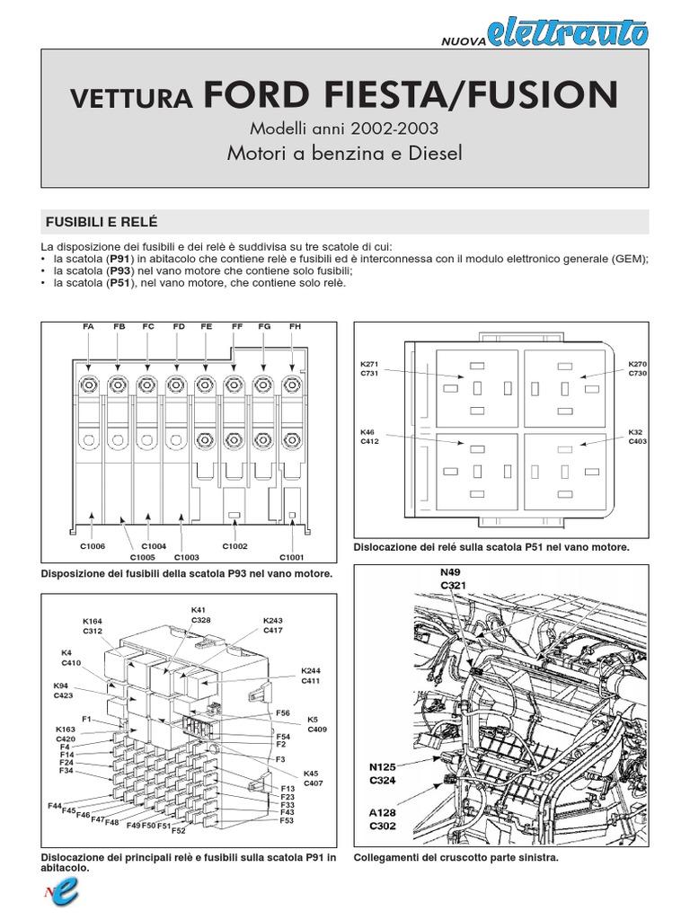 Schema Electrica Fusion Pdf