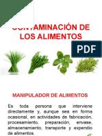 EXposiciones CONTAMINACIÓN DE LOS ALIMENTOS.pptx
