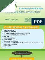 1 Congreso MADRID Primer Ciclo