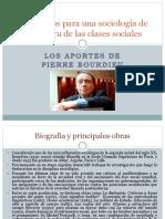 Los Aportes de Pierre Bourdieu