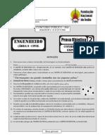 Prova Objetiva 2 Engenheiro Area 2 Civil