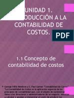 Introduccion a la Contabilidad de Costo